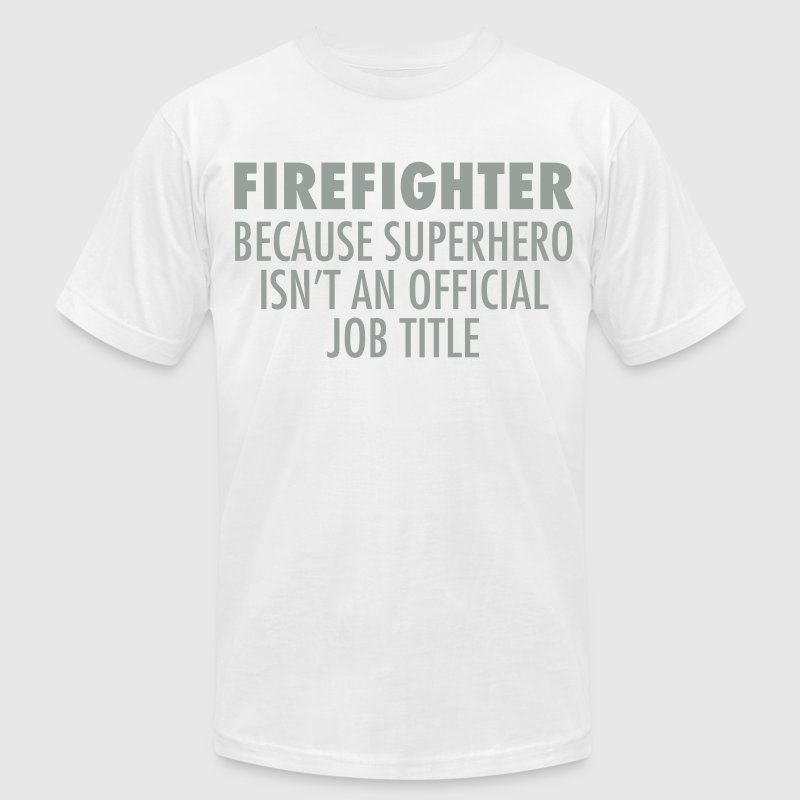 Firefighter - Superhero - Men's Fine Jersey T-Shirt