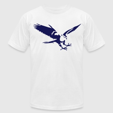 hawk - Men's Fine Jersey T-Shirt