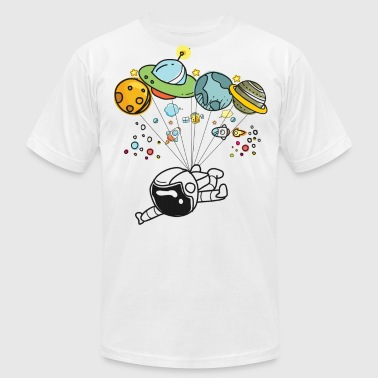 Space Travel Graphic Hot Tee For Kids, Men & Women - Men's Fine Jersey T-Shirt
