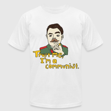 Men's Trust me, I'm a communist t-shirt - Men's Fine Jersey T-Shirt