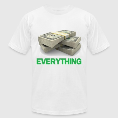 Fucking True Love Money = Everything. - Men's Fine Jersey T-Shirt