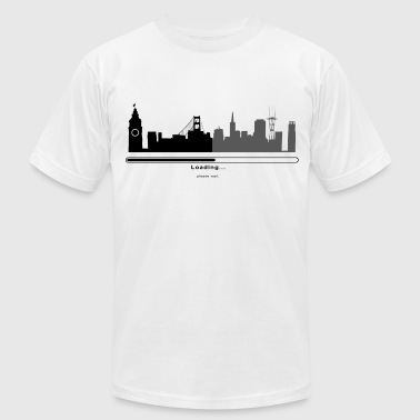 San Francisco Loading Bar - Men's Fine Jersey T-Shirt