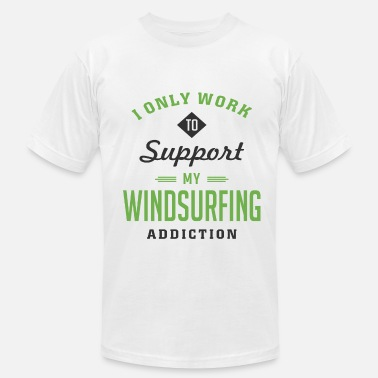 Extreme Sailing Windsurfing Extreme Sport T-shirt - Men's Jersey T-Shirt