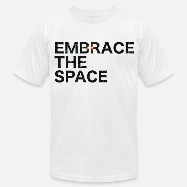 EMBRACE THE SPACE  - Men's  Jersey T-Shirt