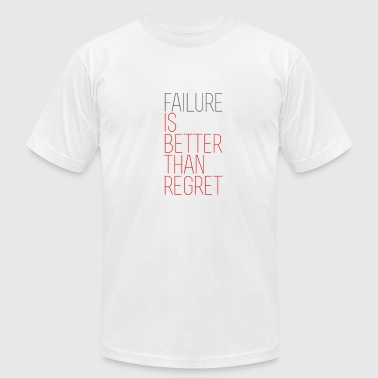 Failure vs. Regret - Men's Fine Jersey T-Shirt