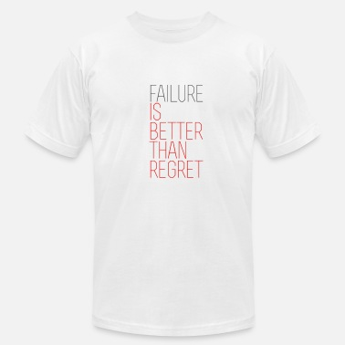 Live Unbound Failure vs. Regret - Men's  Jersey T-Shirt