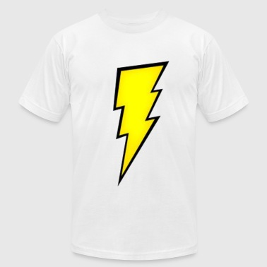 Lightning Bolt. - Men's Fine Jersey T-Shirt