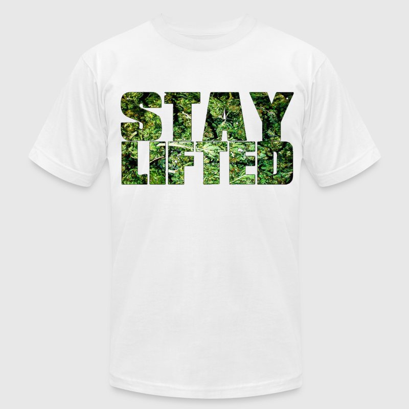 (herb) stay lifted. - Men's Fine Jersey T-Shirt