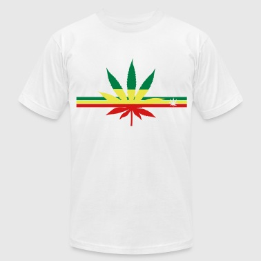 Weed Addicted weed - Men's Fine Jersey T-Shirt