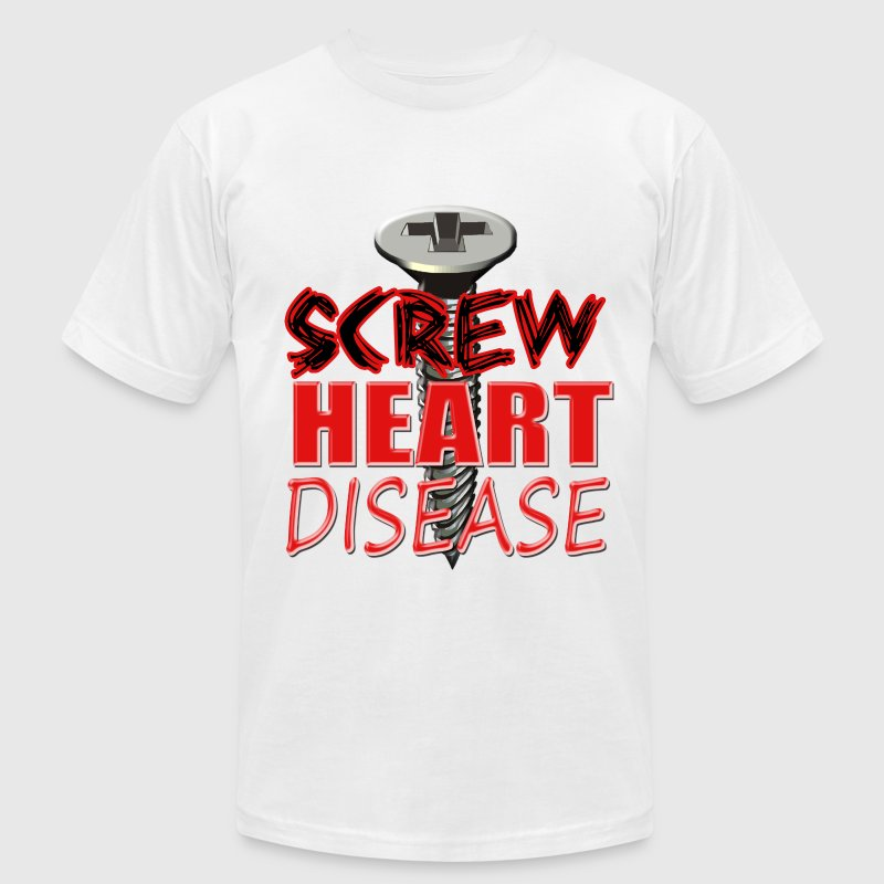 Screw Heart Disease - Men's Fine Jersey T-Shirt