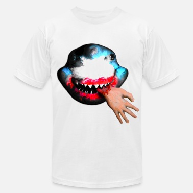 Hungry Shark happy hungry shark - Men's  Jersey T-Shirt