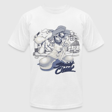 str8 clowning - Men's Fine Jersey T-Shirt
