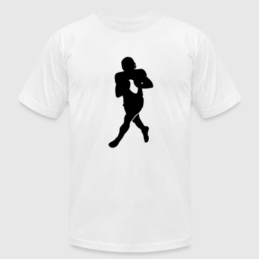 Football player - Men's Fine Jersey T-Shirt