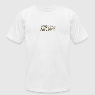 Beer Awesome - Men's Fine Jersey T-Shirt