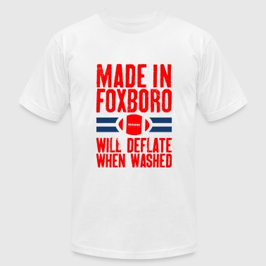 Ny Made In Foxboro.png - Men's Fine Jersey T-Shirt