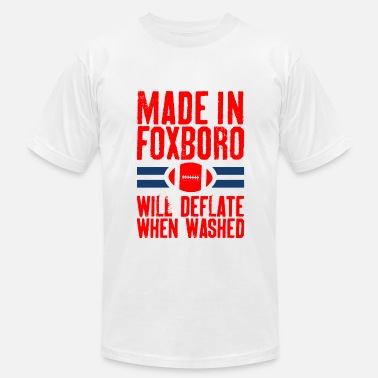 Nfl Made In Foxboro.png - Men's  Jersey T-Shirt