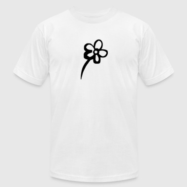 Flower - flowers - Men's Fine Jersey T-Shirt