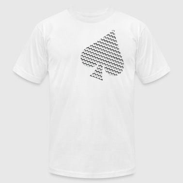 Spade of Spades - Men's Fine Jersey T-Shirt