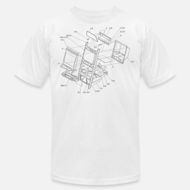 Blast City Exploding Candy [N] - Men's Jersey T-Shirt
