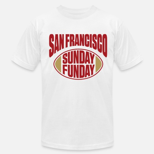 2b86c8ee2a1 San Fran Sunday Funday Men s Jersey T-Shirt
