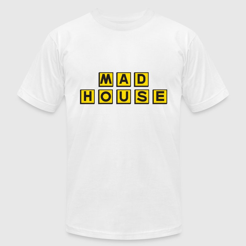 Mad House.png - Men's Fine Jersey T-Shirt