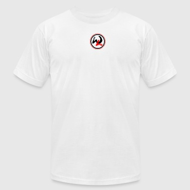 Waveline logo - Men's Fine Jersey T-Shirt