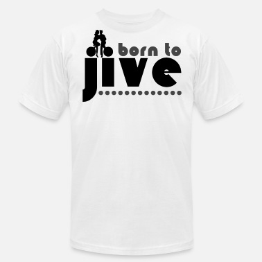 Jive Dance Born To Jive - Men's Fine Jersey T-Shirt