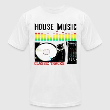 House music classic tracka - Men's Fine Jersey T-Shirt