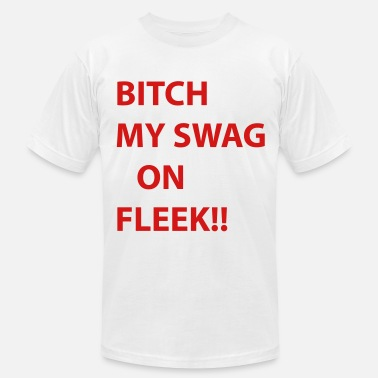 Viral bitch my swag on fleek - Men's  Jersey T-Shirt