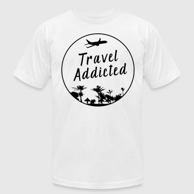 Addicted To Travel Travel addiction - Men's Fine Jersey T-Shirt