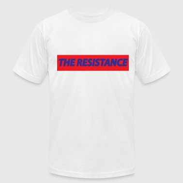 the resistance - Men's Fine Jersey T-Shirt