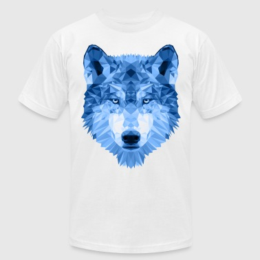 Ice Wolf - Men's Fine Jersey T-Shirt
