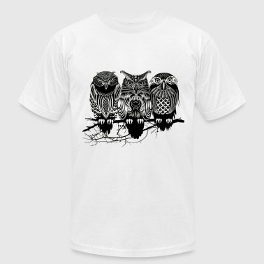 Owls of the Nile ! - Men's Fine Jersey T-Shirt