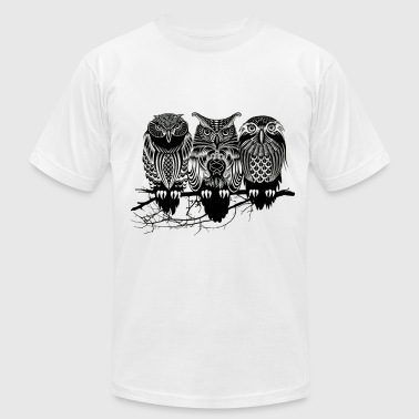 Nile Owls of the Nile ! - Men's Fine Jersey T-Shirt