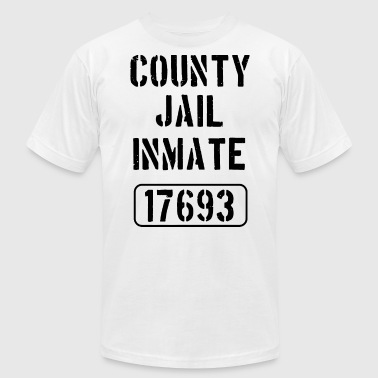 County Jail County jail inmate 17693 - Men's Fine Jersey T-Shirt