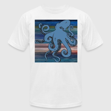 Blurry Octopus - Men's Fine Jersey T-Shirt