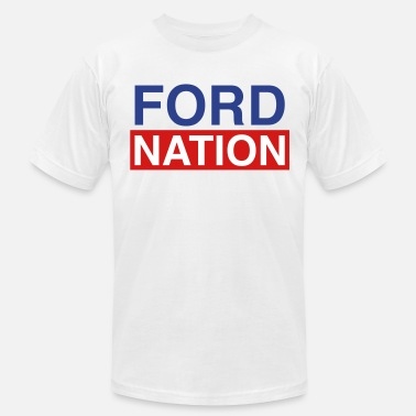 Forde Ford for Mayor; Ford Nation - Men's Fine Jersey T-Shirt