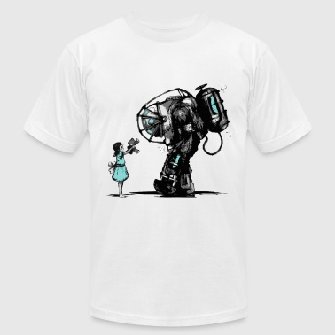 Gaming Bioshock Big Daddy - Men's Fine Jersey T-Shirt
