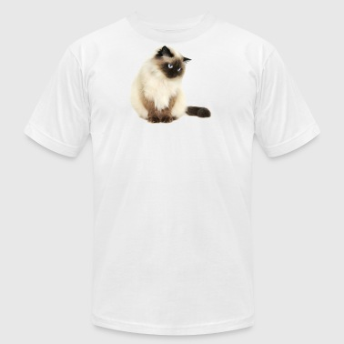 HIMALAYAN CAT - Men's Fine Jersey T-Shirt