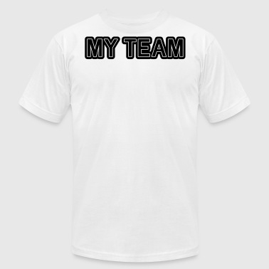 my team teamwork sport - Men's Fine Jersey T-Shirt