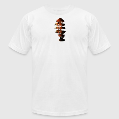 Spiral Guitar Treble Clef - Men's Fine Jersey T-Shirt