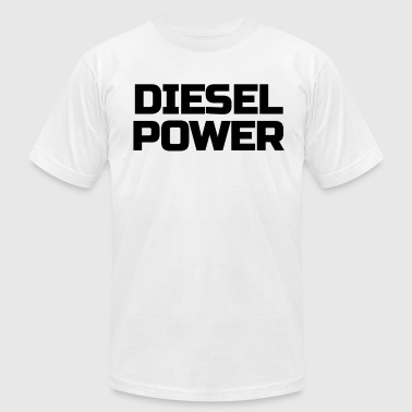 Rolling Coal Diesel Power Diesels Roll Coal Roll Coal Trucker 4X4 Black - Men's Fine Jersey T-Shirt