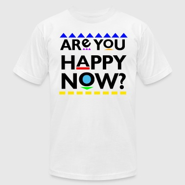 Are you Happy Now? T-Shirts - Men's Fine Jersey T-Shirt