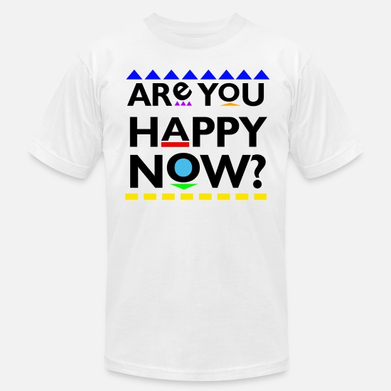 Martin T-shirts - Are you Happy Now? T-Shirts - T-shirt en jersey Homme blanc