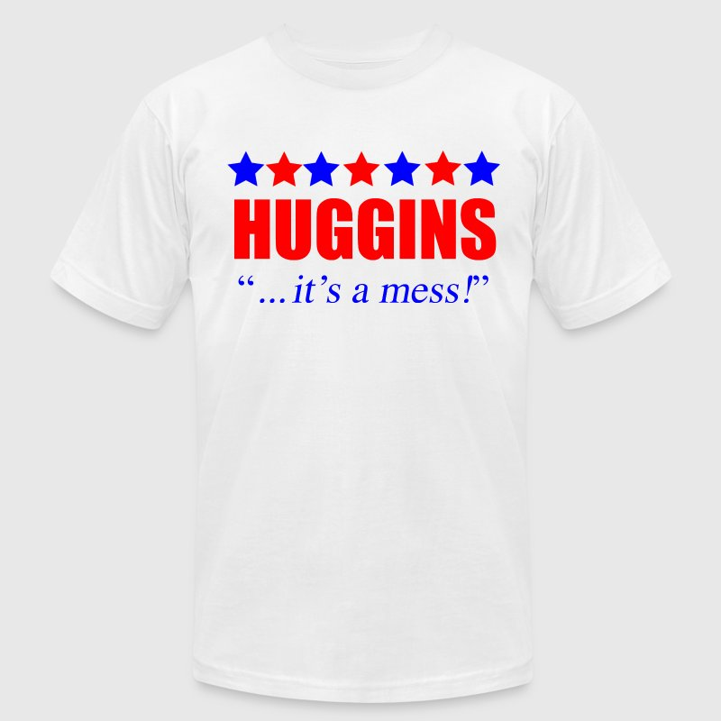 Marty Huggins It's A Mess The Campaign - Men's Fine Jersey T-Shirt