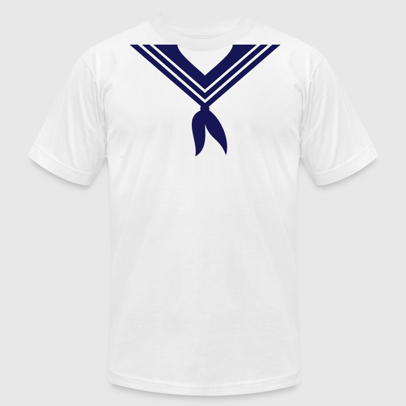 sailor collar (1c) - Men's Fine Jersey T-Shirt