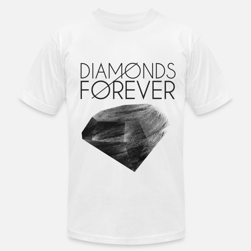 Weezy T-Shirts - Diamonds are Forever - Men's Jersey T-Shirt white