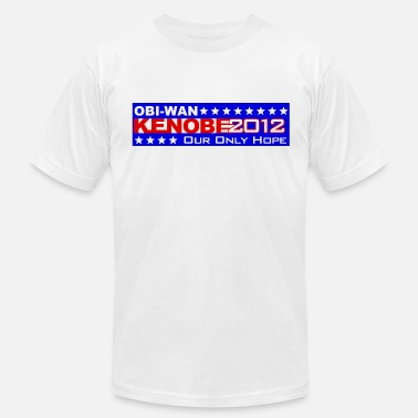 Bumber Obi-Wan Kenobi 2012 Our Only Hope Shirt - Men's Jersey T-Shirt