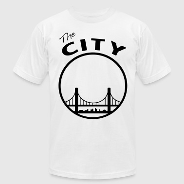the_city - Men's Fine Jersey T-Shirt