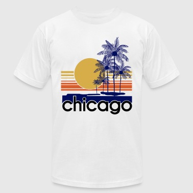 Chicago.png - Men's Fine Jersey T-Shirt